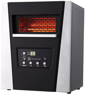 Infrared Electric Portable Space Heater